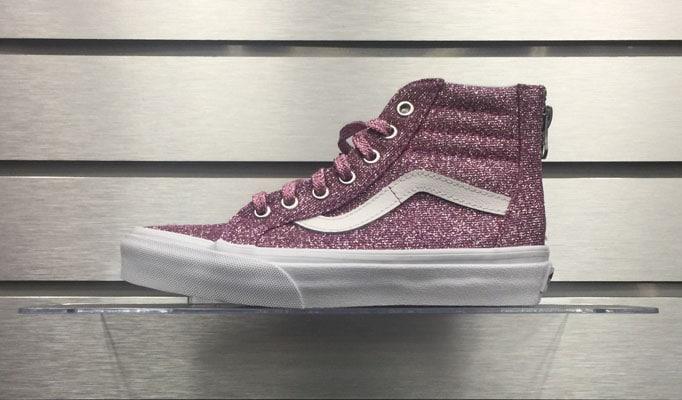 Vans SK8-Hi Zip Glitter – Incredible Feets 2f3b39f3c