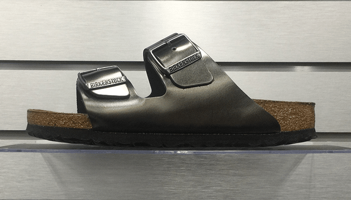 Birkenstock Arizona BS Metallic Anthracite