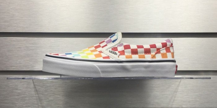 Vans Classic Slip-On Checker Rainbow